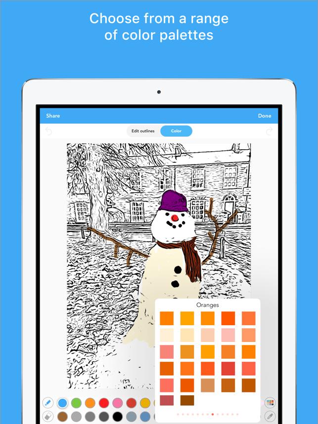 Colorscape - color your photos Screenshot