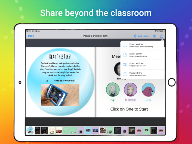‎Book Creator for iPad Screenshot
