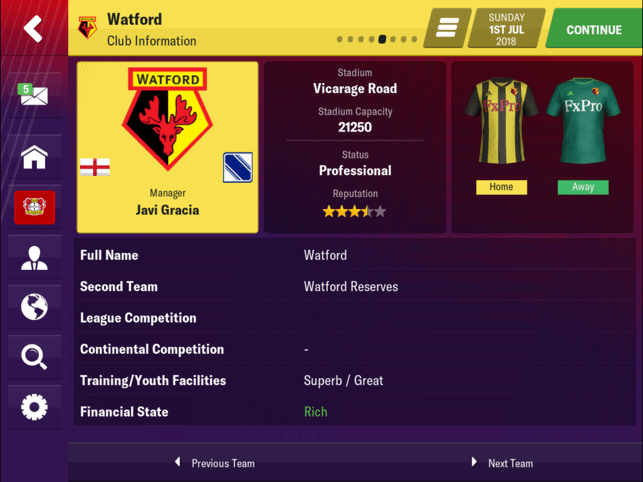 Football Manager 2019 Mobile Screenshot