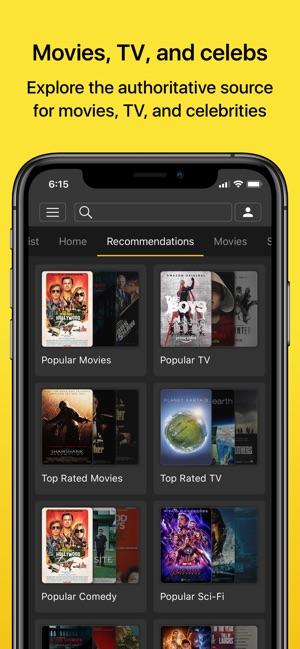 IMDb Filme & TV Capture d'écran