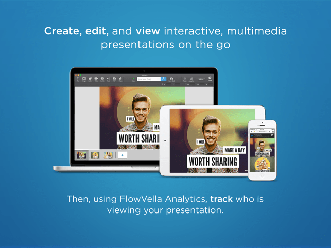 ‎FlowVella Presentation App Screenshot