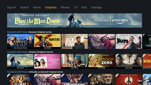 ‎Amazon Prime Video Screenshot