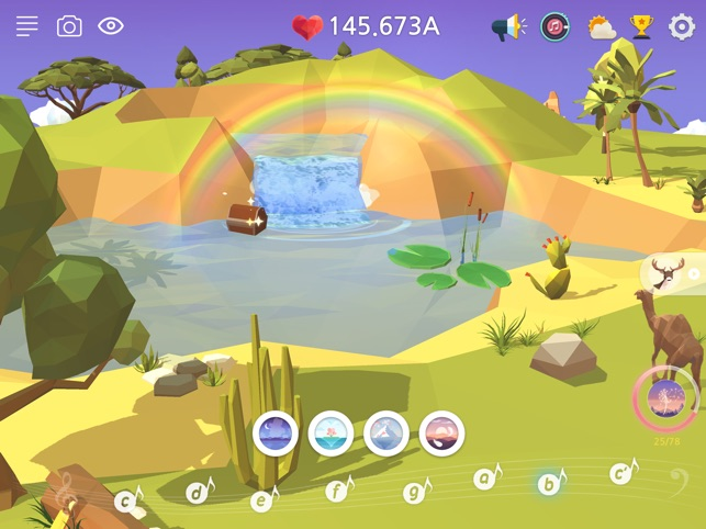 My Oasis - Tap Sky Island Screenshot