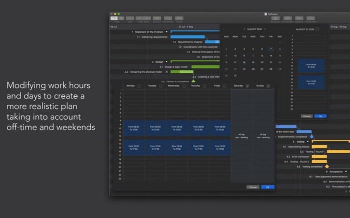 Project Office: Gantt chart Screenshot 06 x36bkn