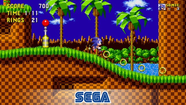 Sonic The Hedgehog Classic Screenshot