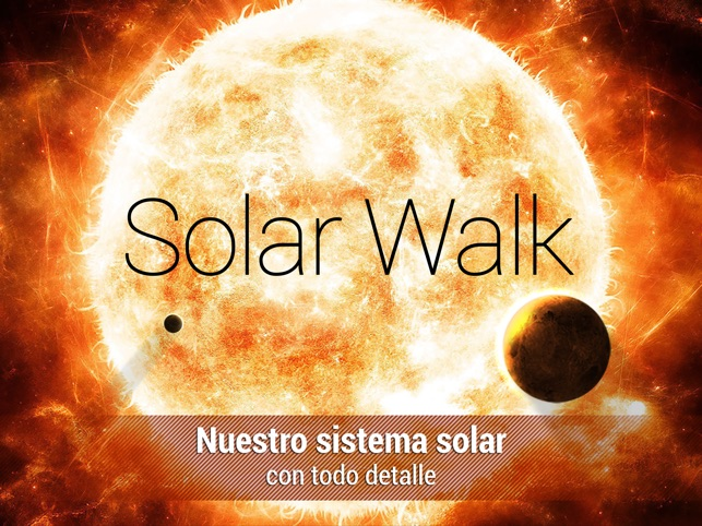 Solar Walk - Planetas y Lunas Screenshot