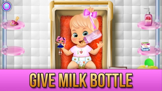 My New Baby Story Screenshot