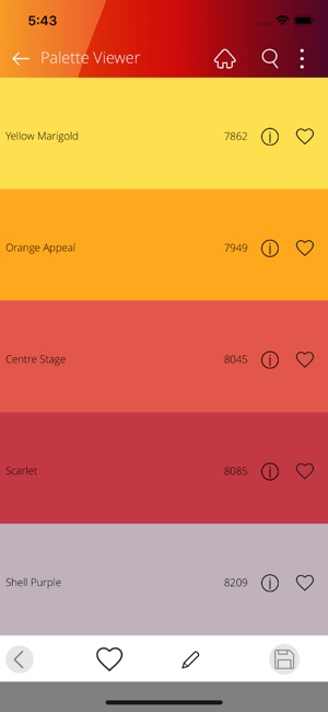 Asian paints color palette happens