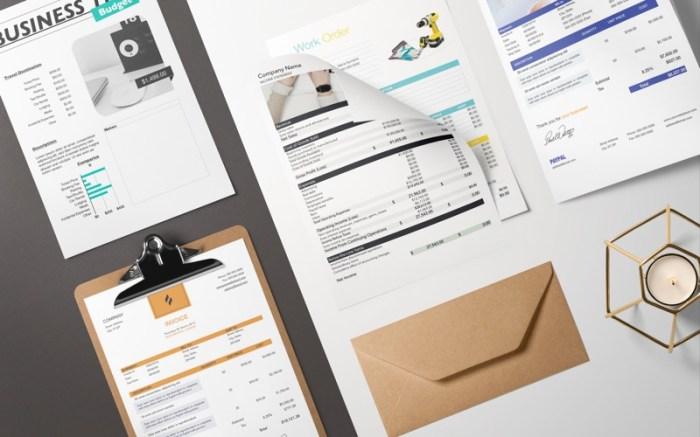 DesiGN for Numbers - Templates Screenshot 02 f5mxejn