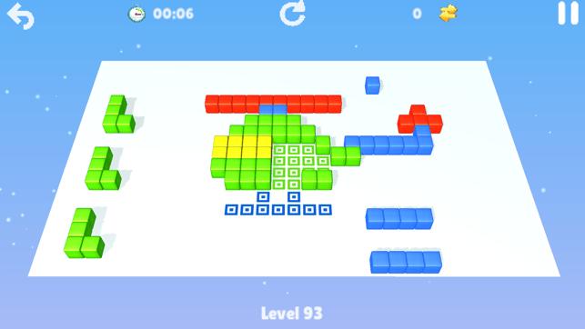 Cubes : brain teaser Screenshot