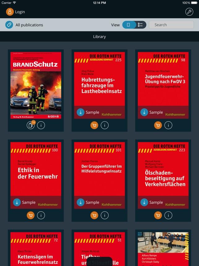 BRANDSchutz-App Screenshot