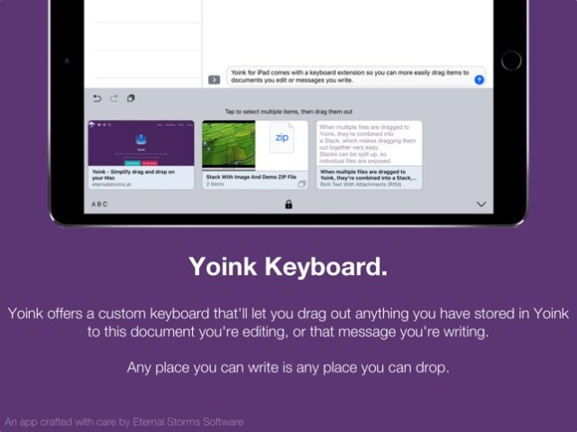 Yoink - Improved Drag and Drop Screenshot