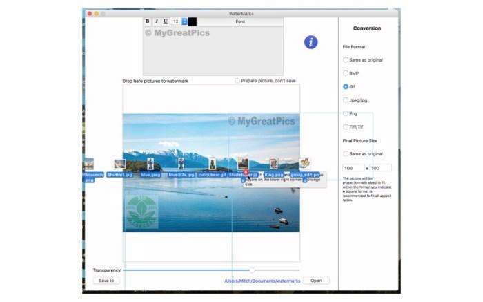 WaterMark+ Screenshot 04 9nluqkn
