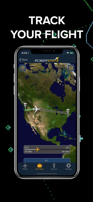 FlightStats Screenshot