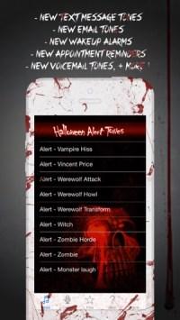 halloween text message tones