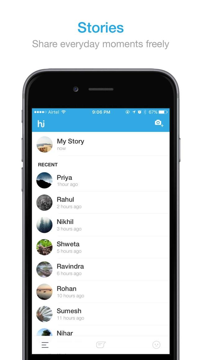 hike messenger Screenshot