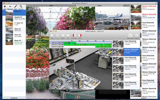 IP Camera Viewer 2 Screenshot