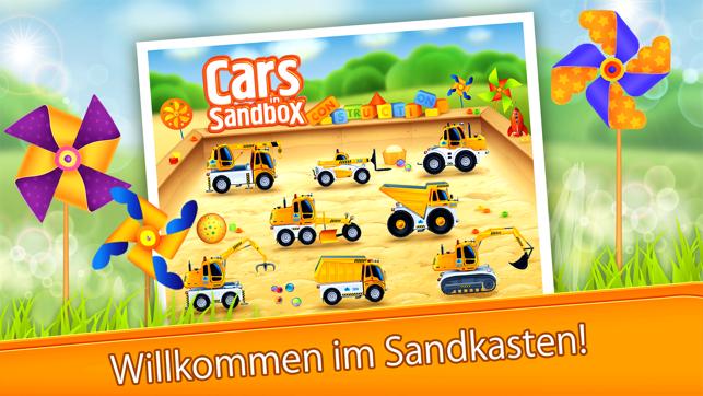 Autos im Sandkasten: Aufbau Screenshot