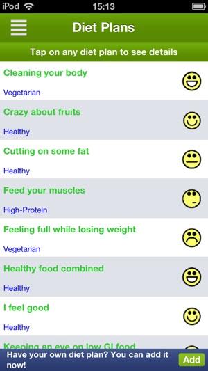 Diet Assistant - Weight loss Capture d'écran