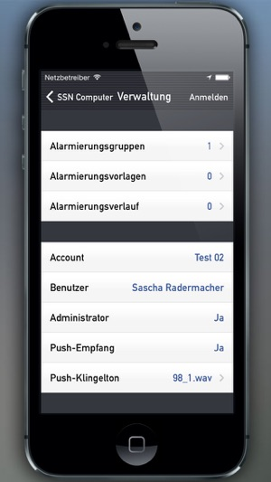 Handyalarm Screenshot
