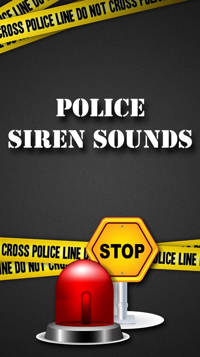 Polizei Sirene ertönt & Klingeltöne - Alarm und SMS-Töne von der Notfallsoundeffekte einstellen Screenshot