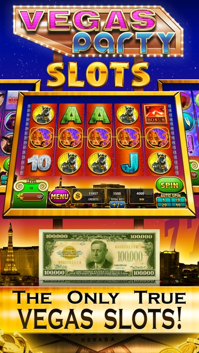 Vegas Party Casino Slots VIP Slot Machine Games - FREE Lady Luck Jackpots of the Rich Grand UK Palace! 3.2 IOS