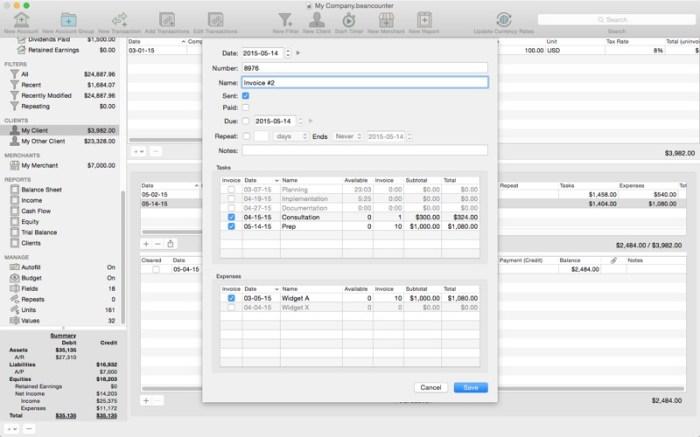 BeanCounter Pro Screenshot 03 1353w1n