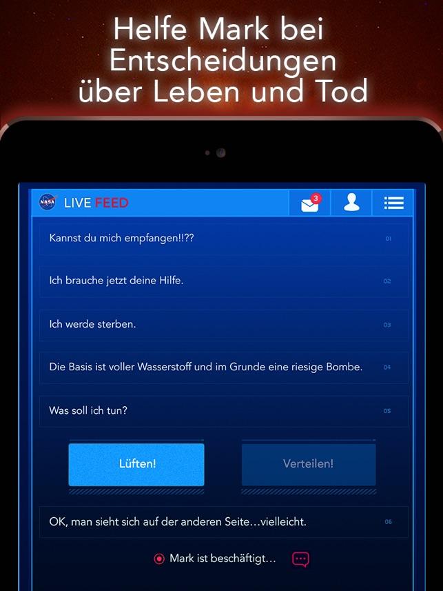 DER MARSIANER - Rettet Mark Watney: Offizielles Spiel Screenshot