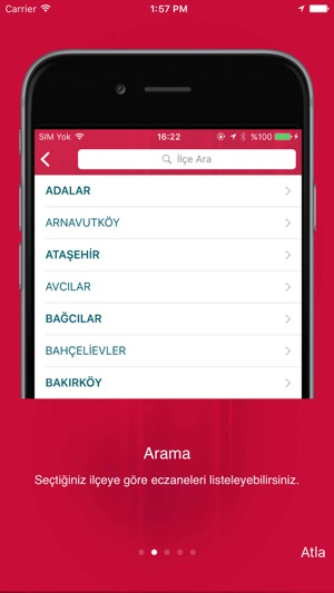 İstanbul Eczane Screenshot