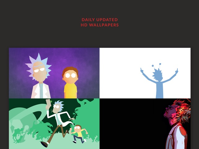 HD Wallpapers Rick And Morty Edition   Free Filters on the App Store  HD Wallpapers Rick And Morty Edition   Free Filters on the App Store