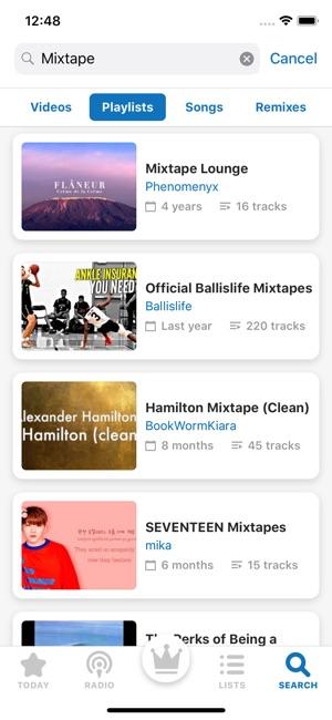 iPlay Radio & Music Player Screenshot