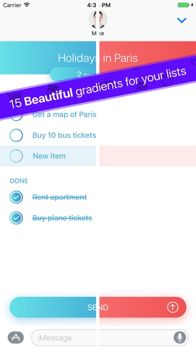 Do With Me - To-Do Lists With Your Friends Screenshot