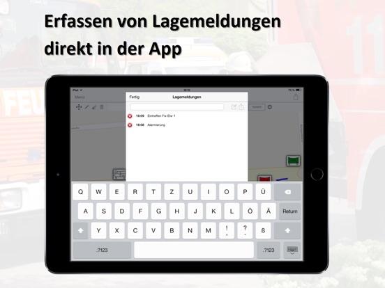 Mobile-Lagekarte Screenshot