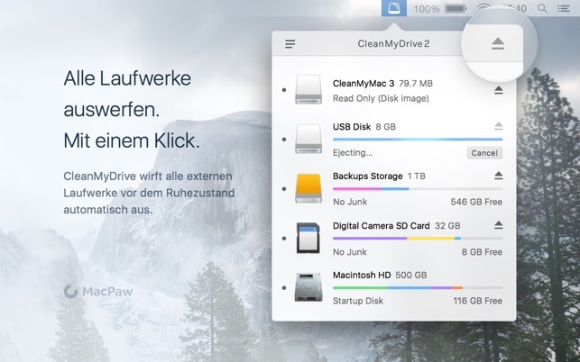 CleanMyDrive 2 Screenshot