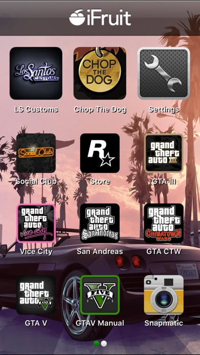 Grand Theft Auto: iFruit Screenshot
