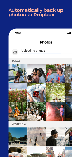 Dropbox - Backup, Sync, Share Screenshot