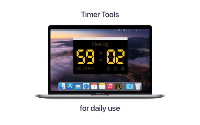 RH Timer - Manage Your Time Screenshot 01 ikzebvn