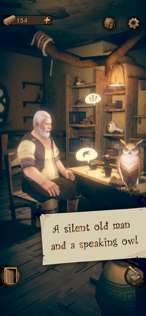 The Owl and Lighthouse-Story Screenshot
