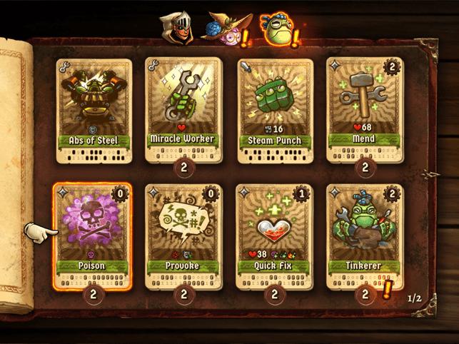 SteamWorld Quest Screenshot