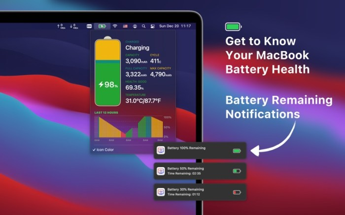 Network & Battery Screenshot 02 1353w1n