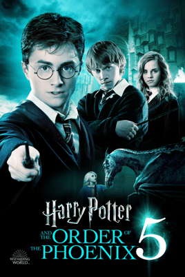 Harry Potter y La Orden del Fénix.