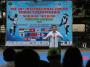 Chairman MNC Group Hary Tanoesoedibjo saat memberikan sambutan pada pembukaan The 36th International Junior Tennis Championship