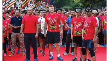 lomba lari RCTI reds run 5K MNC group