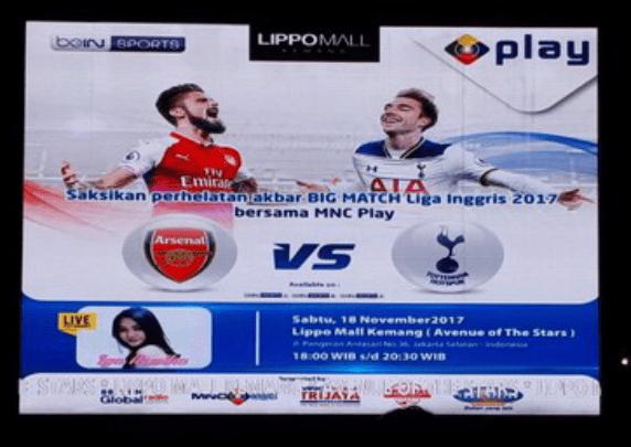 MNC Play Ajak Suporter Arsenal dan Spurs Nobar Liga Inggris