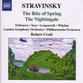 London Symphony Orchestra, Philharmonia Orchestra & Robert Craft - Stravinsky: The Rite of Spring - The Nightingale  artwork