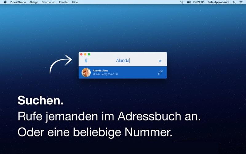 DockPhone Screenshot