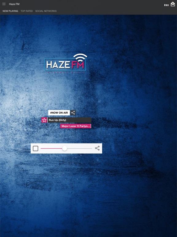 Haze FM Screenshot