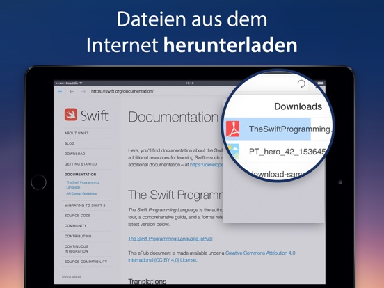 Documents von Readdle Screenshot