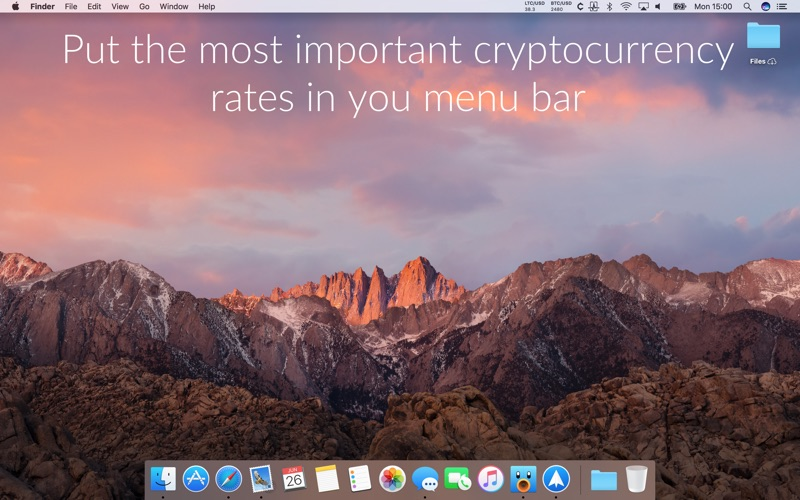 Cryptey for Mac 1.6.0 激活版 - 比特币行情跟踪