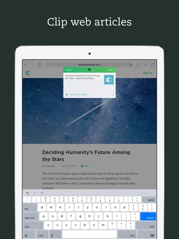 Evernote - stay organized Screenshot